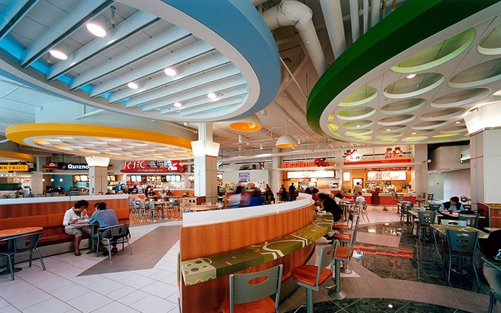 Sunco Drywall Ltd |Burnaby Metrotown Food Court